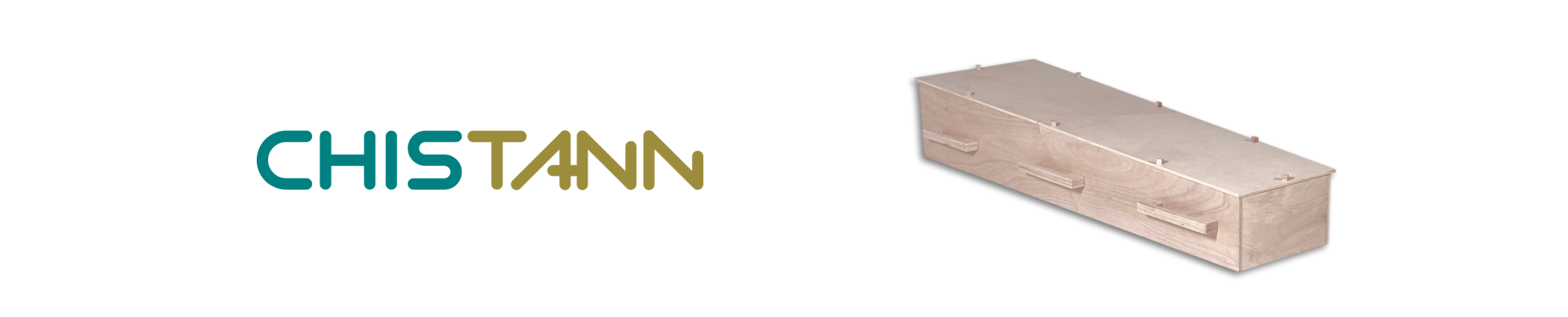 CHISTANN DIY flat-packed coffin in a box