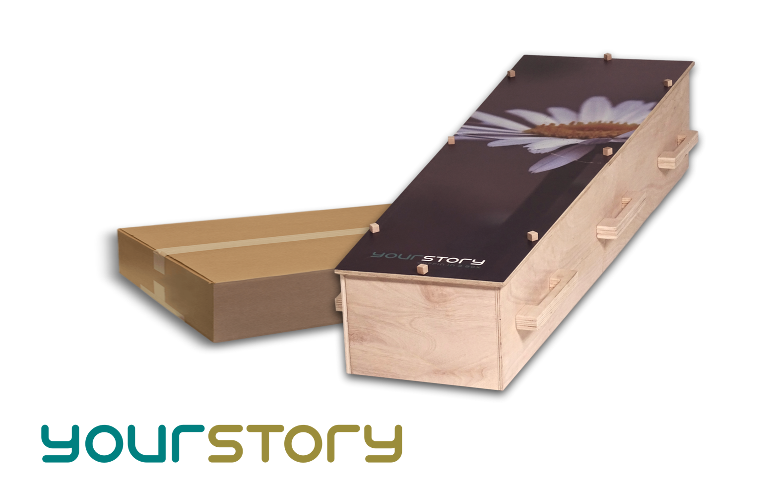 YOURSTORY personalised coffin photoprint